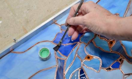 How To Copper Foil Stained Glass:  Tutorial, Tips, & Tricks